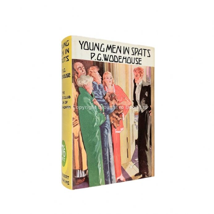 Young Men in Spats by P.G. Wodehouse​​​​​​​ First Edition Herbert Jenkins 1936
